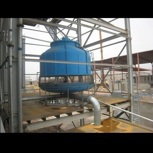 Wooden Three Phase Induced Draft Type 380 V FRP Cooling Tower