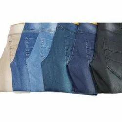 Plain Slim Fit Casual Wear Men's Denim Jeans, Waist Size: 28 to 36 inch