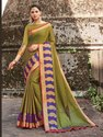 Exclusive Festive Wear Banarasi Jacquard Weaving Saree, 6.3mtr