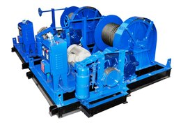 25 Ton Heavy Duty Winch Machine