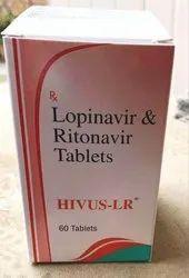 Hivus LR Lopinavir & Ritonavir Tablets