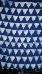 Printed Cotton Dabu Fabric, GSM: 50-100 GSM