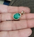 Emerald / Panna Gemstone Ring sold by Taj Ring Enterorises
