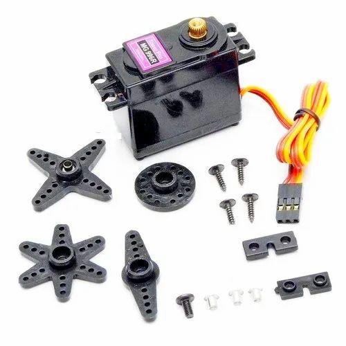 Robot Motors - Straight Dual Shaft BO Motor with Wheel 150 RPM ,1