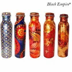 950ml Color Printed Copper Bottle