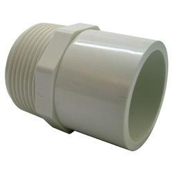 PVC Male Threaded Adapter, Size: 1/2 inch, for Structure Pipe