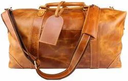 DR12 Cow Oil Pull Up Leather Travel Bag