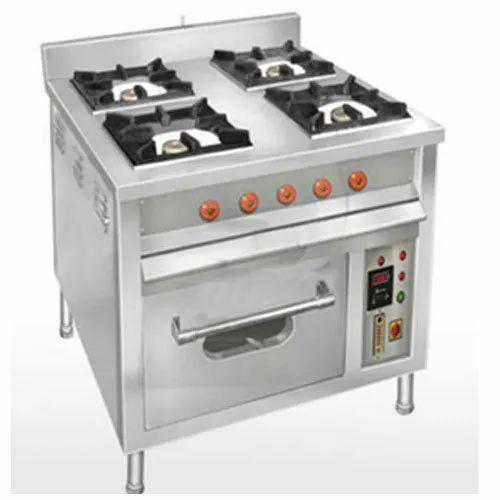 Quality Enterprises Ss Four Burner Gas