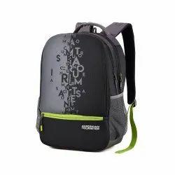 d7b1937d7aebec American Tourister 32 Ltrs Black Casual Backpack (AMT Fizz SCH Bag 02 -  Black)