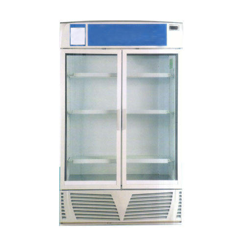Energy Solutions Stainless Steel Commercial Glass Door Refrigerator
