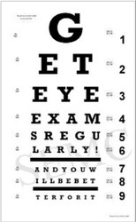 image regarding Printable Eye Charts named Eyesight Chart - Eye Chart Most up-to-date Expense, Brands Companies
