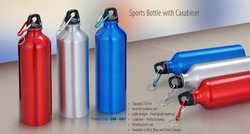 Aluminium Water Bottle, Capacity: 750 mL