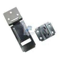 Black Iron Swivel Hasp & Staple