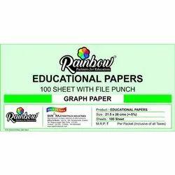 Rainbow School Graph Paper, Gsm: 60