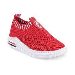 KTB526 Red Kids Slip On Shoes