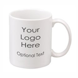 Company Logo Printed Coffee Mugs