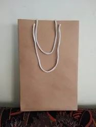 Printed Rope Handle Craft Paper Bag, Capacity: 2kg, for Shopping