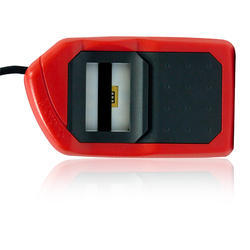 Red Plastic Morpho MSO 1300 E3 USB Finger Scanner With 1 Yr