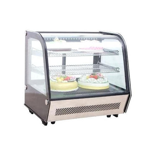 Quartz Bend Glass Display Counters