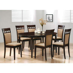 Wood Brown Wooden Dining Table