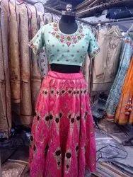 Silk Partywear Dress