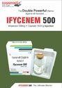Imipenum 500mg  Cilastatin 500mg