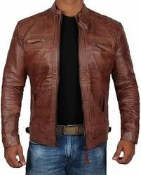 Premium Quality Men Leather Jacket