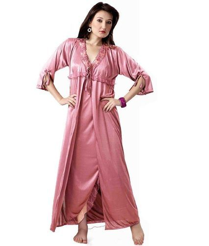 Ladies Nighty - Ladies Three Piece Fancy Nighty Manufacturer from Mumbai 07e0a35f8