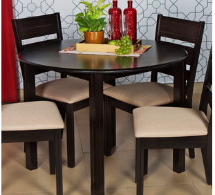 Montoya Round Dining Table 4 Seater Home Centre