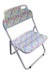 Folding Baby Chair-Multi Colour Butterfly
