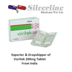 Voritek 200mg Tablet