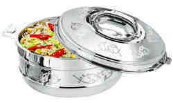 Esteelo Enjoy Diamond Stainless Steel Insulated Casserole