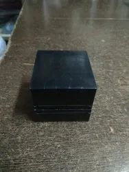 Black Leather Jewelry Storage Box