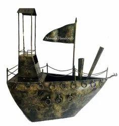 Iron Decorative Ship