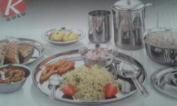 Stainless Steel Dinner Set For Home