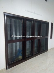 Insect Screen with Aluminum Profile