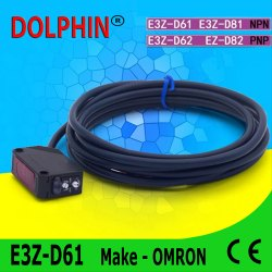 E3Z-D61 Omron Photoelectric Switch Diffuse Sensor Npn No Sn: 5-100 mm