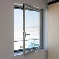 Silver Rectangular Aluminium Z Section Window