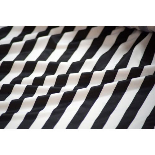 Black And White Striped Fabric Rs 210 Kilogram As Textiles Id