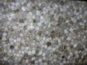 White Round Quartz Gemstone Slab