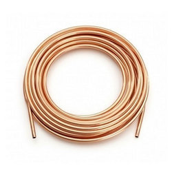 Polished Round Copper Coil