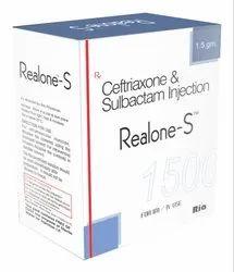 Ceftriaxone 250 mg & Sulbactum 125 mg Inj