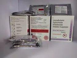 Budedum L Respules Levosalbutamol Budesonide Inhalation Suspension, Treatment: Anti Asthmatic
