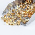 Natural Citrine Brilliant Cut Stones