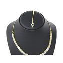 Appealing Silver Necklace Set