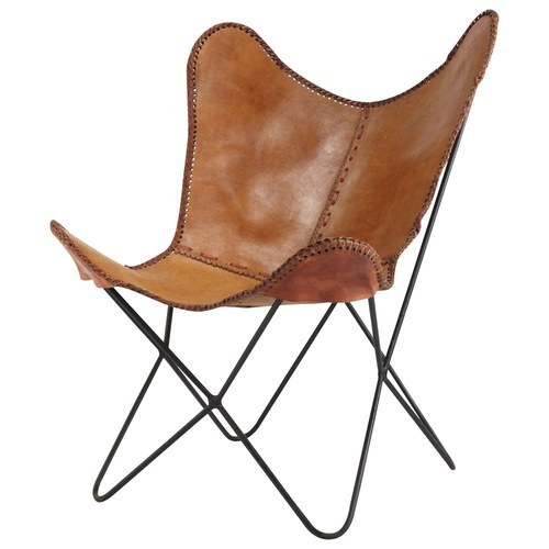 Black and Brown Butterfly Chair