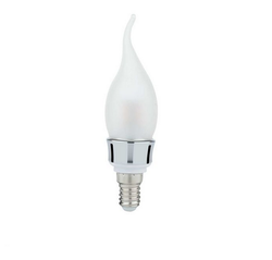 Syska Frosted Glass Candle Bulb