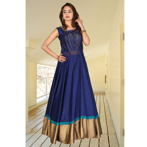 Ladies Long Gown at Rs 1495 /piece | Malad East | Mumbai | ID ...