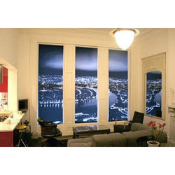 Multicolor PVC Roller Window Blinds
