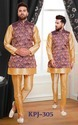 Fashionable Mens Kurta Pyjama With Jacket